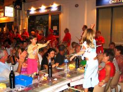 Dancing in the streets - Night-market in Nerac